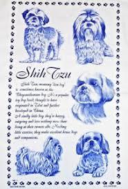 image is loading bn shih tzu white cotton tea towel shih
