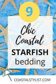 9 coastal beach starfish bedding