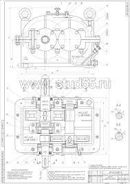 Детали машин курсовой проект МГСУ Рабочие чертежи деталей и спецификация