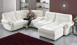 contemporary leather living room furniture. Awesome Contemporary White Leather Sofa Mesmerizing Living Room Furniture In Couches Ordinary