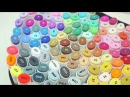 Ohuhu Color Chart Ohuhu Markers 120 Colors Set Show