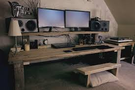 home office computer 4 diy. 20 DIY Desks That Really Work For Your Home Office Tags: Computer Desk Ideas Bedroom, Living Room, Diy, Narrow, Old Ideas, 4 Diy W