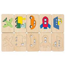 <b>Карточки</b>-<b>раскраски Wood</b> Games, транспорт (артикул 11495.03 ...