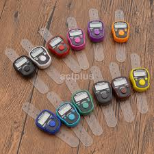 HOT Number Clicker Tasbeeh Tasbih Mini <b>Finger</b> Ring <b>Digital</b> Hand ...