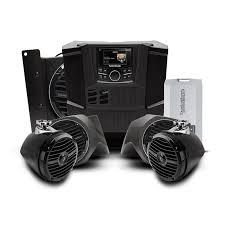 rockford fosgate rngr stage4 400 watt stereo front lower speaker rockford fosgate rngr stage4 400 watt stereo front lower speaker rear speaker and subwoofer kit for select ranger®