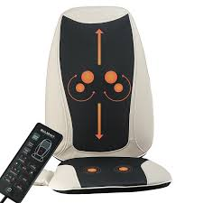 heated back massage seat cushion car seat chair massager lumbar neck pad heater 1 of 7only 2 available