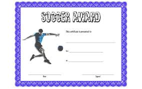 soccer awards templates soccer certificate templates the best template collection