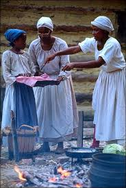 introduction to colonial african american life the colonial slaves preparing a meal