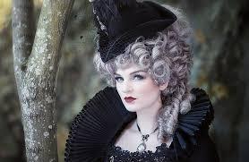 HD wallpaper: girl, hat, costume, wig   Wallpaper Flare