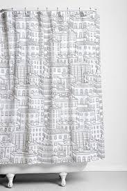 city block shower curtain uo