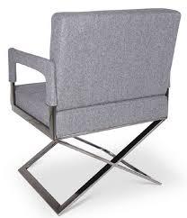 Casa Padrino Luxus Stuhl Mit Armlehnen Grau Silber 60 X 66 X H 89 Cm Gepolsteter Bürostuhl Büromöbel
