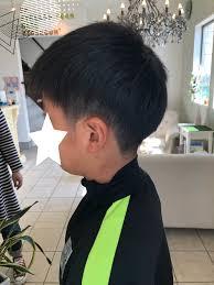 美容室at Hair Base サッカー少年 ヘアスタイル
