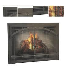 legend premier design madrid fireplace door