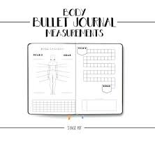 Luxury Body Measurement Tracking Chart Best Template Ideas
