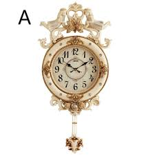 living room large bell european pendulum clock household clock personality fashion luxury nordic large lu702121 contemporary kitchen wall clocks