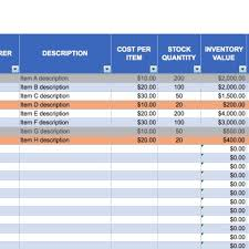 Free Excel Inventory Templates Regarding Hotel Inventory Spreadsheet