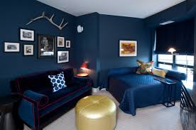 navy blue bedroom colors.  Navy Interior Blue Wall Painting Stylish Easy DIY Paint One TrendSurvivor  Within 25 From To Navy Bedroom Colors