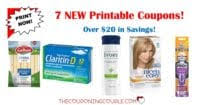 Huge savings at cvs with tons of new printable coupons just released today. Clairol Coupons Printable Newspaper Cash Back Rebates Deals
