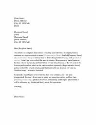 Letter Of Complain Sample Complaint Letter Smart Letters