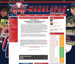 Baseball Websites Templates Custom Theme Showcase Youth Sports Websites Sports Website Template