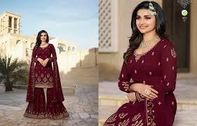 Salwar Kameez Designs Catalogue Free Download Vinay Fashion Kaseesh Sharara Ethnic Export