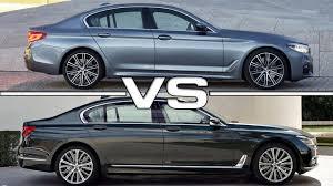 2017 BMW 5 Series vs BMW 7 Series - YouTube