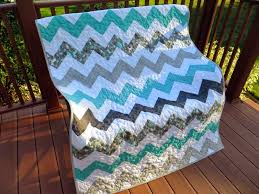 The Way I Sew It: Chevron Baby Quilt No. 2 & At long last, the second chevron baby quilt is finished for my friend  Kathy's other grandson. I delivered it this morning. Adamdwight.com