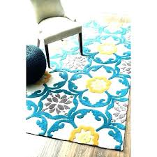 gray yellow area rug rugs grey and target blue yello rugs hand tufted geometric pattern polyester gray yellow