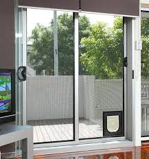 patio door with pet door built in cat sliding glass door actually it is interesting to