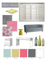 office color palettes. A Modern Coral Pink And Pewter Grey Color Palette With Floral Chevron Pattern Accents. Perfect Scheme For Girly Office. Office Palettes E
