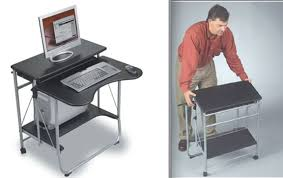 Portable Office Desks. If Your Doubles As A Guest Room, Dining Room  Or Living -- Design Decoration