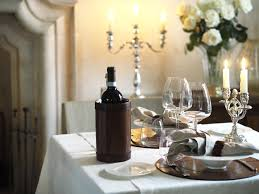 glasses table setting. Piemonte Red Wine Glasses Table Setting