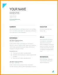 Resume Format Downloadable Resume Template Free Download 2017 Free Word Resume Template