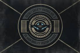 secret society badges 3