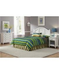 Don't miss Summer Sales on Bowery Hill 3 Piece King Bedroom Set in White