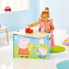 Peppa Pig Bedroom Furniture Peppa Pig Toy Box Worlds Apart