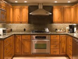 stain unfinished cabinets. Brown Kitchen With Unfinished Cabinets Intended Stain HGTVcom