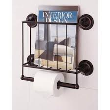 Chrome Toilet Paper Holder Magazine Rack Extraordinary Toilet Paper Holders On SALE Free Standing Recessed Magazine