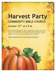 celebration flyer template. Harvest Celebration Church Flyer Template Flyer Templates