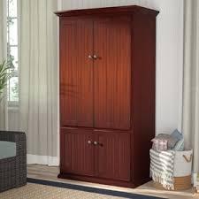 Colored corner desk armoire Computer Desk 38 One Way Furniture Desks Youll Love Wayfair