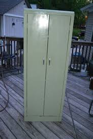vintage metal storage cabinet. Vintage Mid Century Metal Jelly Storage Cabinet 1950-60\u0027s Kitchen Utility  Garage #countryfarmcabinet Vintage Metal Storage Cabinet L