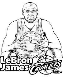 fancy design lebron coloring pages lebron james page picture sheet to print nba free shoes dunking