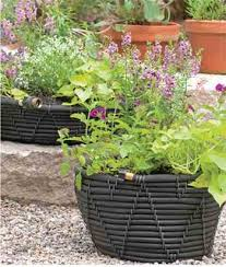 garden hose pot with lid. Self Watering Garden Hose Pot With Plants Lid H