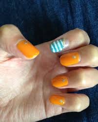 ネイルカラーpaの口コミ夏だからやりたいオレンジネイル夏のポップ