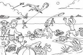 One is focused on reasoning skills in preschoolers or kindergarten students. 25 Free Printable Beach Coloring Pages