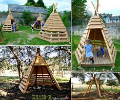 realize wooden tents and spend quality time outdoors