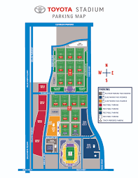 Frisco Texas Stadium Seating Chart Parking Fc Dallas