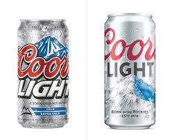 Coors Light Collectible Bottles Brand New New Logo And Packaging For Coors Light By Turner