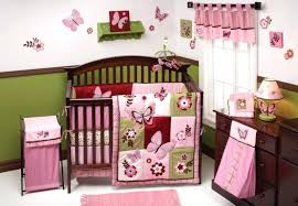 monkey crib set bedroom design cute pink crib blankets for baby bedding crib sets for girls