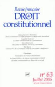 La Charte De Lenvironnement Un Leurre Constitutionnel